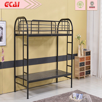 very strong 2015 cheap durable simple design double decker bed price