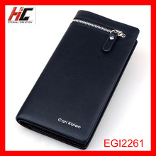 New hot selling ultrathin card hold multiple wallet men's clutch cell phone bag wholesale