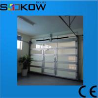 china suppliers glass panel garage doors/garage door safety aluminum glass garage door/used glass overhead door