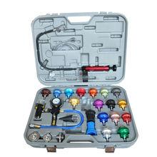 Skylink 26 Pc alumínio sistema de arrefecimento radiador cor testador tampa de pressão ferramenta de diagnóstico Kit