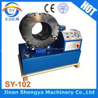 "SY-102 New tybe 6"" high pressure hose pipe press crimping machine"