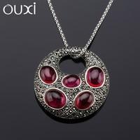 OUXI top sale latest fashion imitation antique silver jewellery