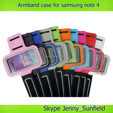 Cell phone accessories ABS sport armband cases ,for samsung galaxy note 4 case