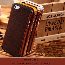 New design metal bumper case for iphone ,wood mobile phone case,general mobile discovery case