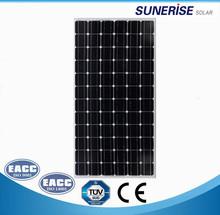 36V Monocrystlline solar panel 200 Watt