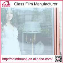 2015 high quality pure color adhesive transparent film window