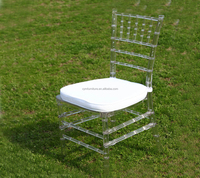 wedding top class resin clear tiffany chair for sale