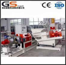 plastic low smoke free halogen cable raw material making machine