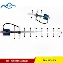 Outdoor waterproof GSM 806-960mhz wireless outdoor tv yagi antenna