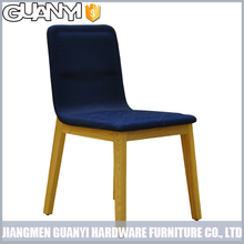 multi-color wooden leg linen simple dining room set