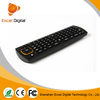 2015 New Arrival wireless mouse remote Mini wireless keyboard&fly air mouse black Remote Controller air