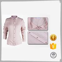 Women long sleeve 100 cotton ladies formal western office wear
