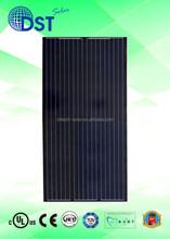 300W-330W 72 cells TUV/MCS/UL/CEC/JET Taiwan Black Mono Solar Module/Solar Panel