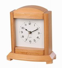 Alibaba china hotsell trend style high quality decoration wooden/ metal table clock