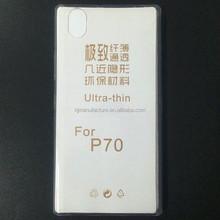 Slim TPU Skin Case Cover for Lenovo P70, For Lenovo P70 0.5mm Plastic Pudding Phone Case