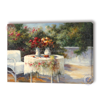 Italian landscape oil paintings and garden landscape paintings