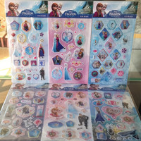 ALL FREE SHIPPING! 400Sheets 8X14CM MIXED 6 DESIGNS FROZEN EPOXY RESIN STICKERS,EPOXY RESINDONME STICKER,EPOXY STICKERS