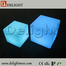 High Quality Illuminated Color Changing LED Bar Cube Chair Cube Seat