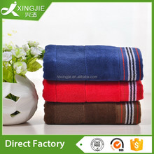 Luxury dobby velvet towel door gift towel
