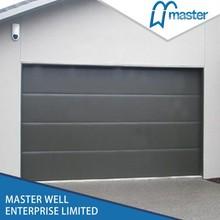 Wood grain with 1 wide line garage door