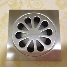 SUS 304 Direct Manufacturer floor drain, wholsale shower&kitchen floor drain