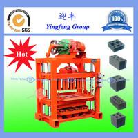 2015 new Parameter setting manual block and brick making machines QTJ4-40
