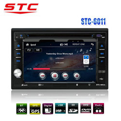 6.2 inch Touch screen 2 din Car Radio with sim card STC-6011DVD