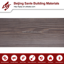 Decorative external walls/fiber cement materials(color :brown)