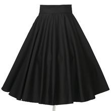 valores oscilación ropa círculo de baile clásicos 6xl más tamaño de la vendimia de la falda de las mujeres flada de mujer
