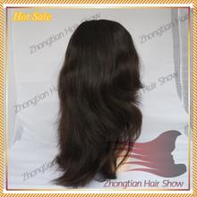 Factory Wholesale European Human Hair Silk Top Jewish Wig European Hair