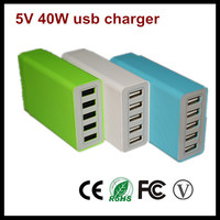 2015 new design 5 port usb charger for iphone 6 best buy