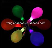 Promoción personalizada de goma barato llevó el globo made in China