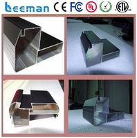 Leeman p5 smd outdoor led screen video frame aluminium fixed gear p10 led screen outdoor