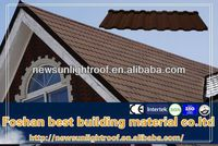Invariable Color Metal Steel Coating Roof Tile,Free Maintain Building Material