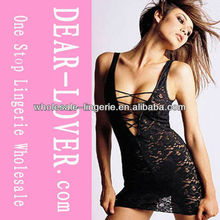 New Design Wholesale Lace Babydoll Lingerie pictures of women in nightgowns