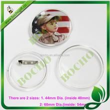 changeable acrylic badges