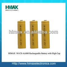 Wholesales price Ni-CD 12V AA Battery Packs 800mAh