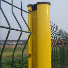 3D V Profiled Wire Mesh Garden Fence / PVC Coating Wire Mesh Garden Fence / Wire Mesh Garden Fence 50x200mm