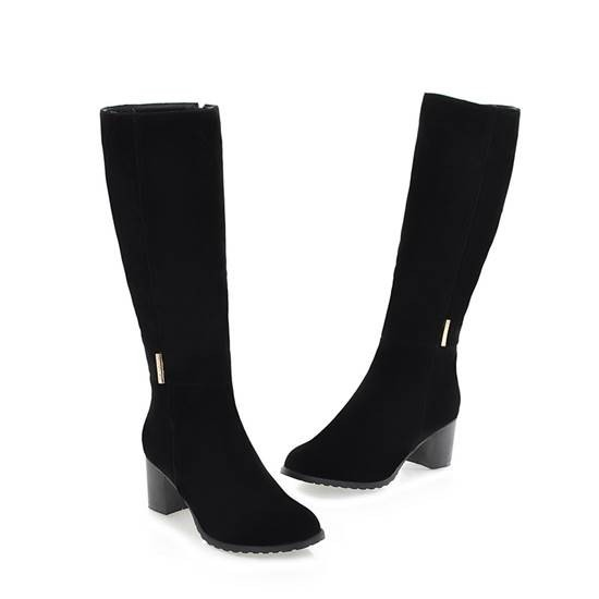Fashion Botas Femininas 2014 Women's Knee High Motorcycle Boots