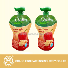 Plastic drinking bag/juice packing,juice pouch with straws