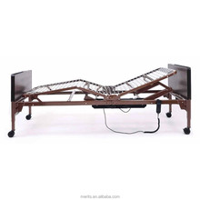B211 cheap price one motor semi electric bed home care steel hospital steel bed
