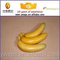 YIWU foam artificial fruit / artificial banana for decoration