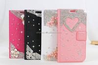 Diamond Leather Flip case for Apple iPhone 6