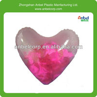 red pvc inflatable balloon heart /inflatable valentine day item