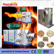 quemador de biomasa de leña