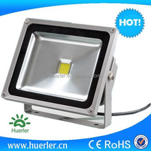 china factory CE ROHS AC85-265V DC12v-24v solar outdoor 50 watt 50W led flood light LED