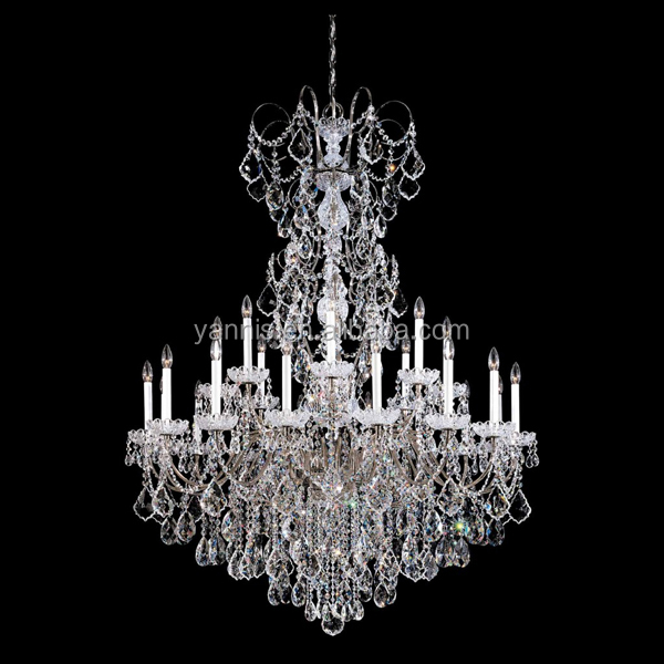 grande taille maria thersesa lustre en cristal clairage avec pendentif k9 clair couleur cristal. Black Bedroom Furniture Sets. Home Design Ideas
