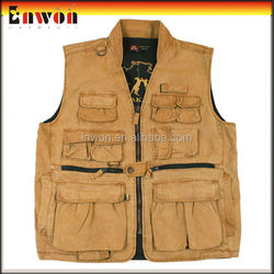 Fashion designer work vest uniform fly fishing vest