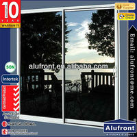High quality aluminum sliding door/ European standard with single glass/double glass