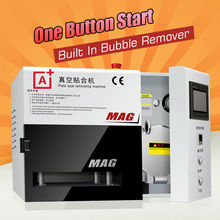 A+ KO MAG Vacuum OCA lamination machine all automatic work cracked iphone samsung repair oca laminator oca lamination machine